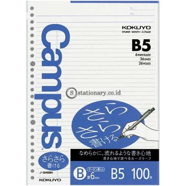 Kokuyo Loose Leaf 100 Lembar B5 6Mm N-846Bn Office Stationery