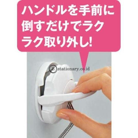 Kokuyo Magnet Hook Kait 10Kg Fuku-227 Magnet Hook-Fuku-227-White Office Stationery