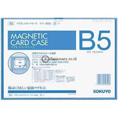 Kokuyo Magnetic Card Case B5 Maku-605 Kokuyo Maku-605-Blue Office Stationery Equipment