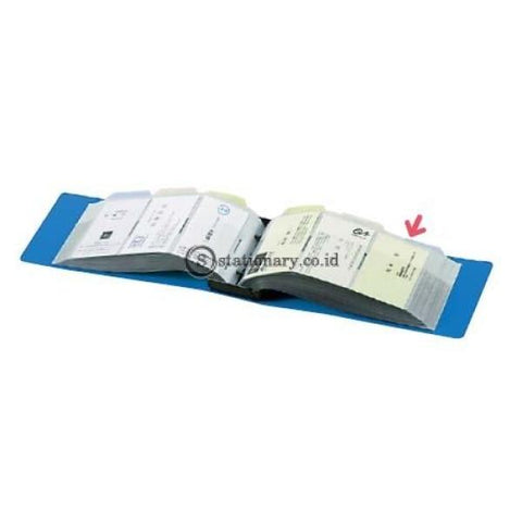 Kokuyo Name Card Holder Pp 204 Lembar Mei-20 Name-Card-Mei-20-Blue Office Stationery