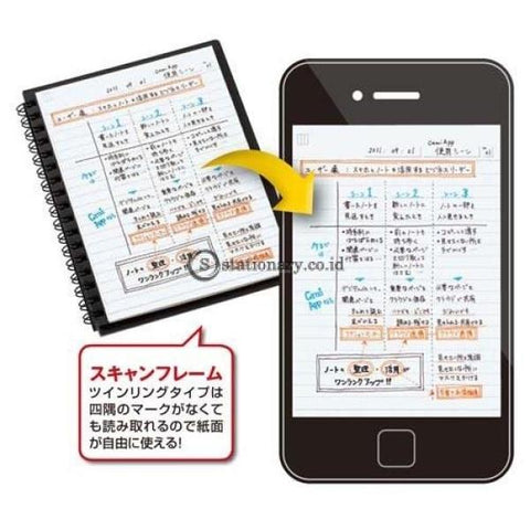 Kokuyo Notebook Ring Camiapp A6 5Mm S-Tca92S Office Stationery