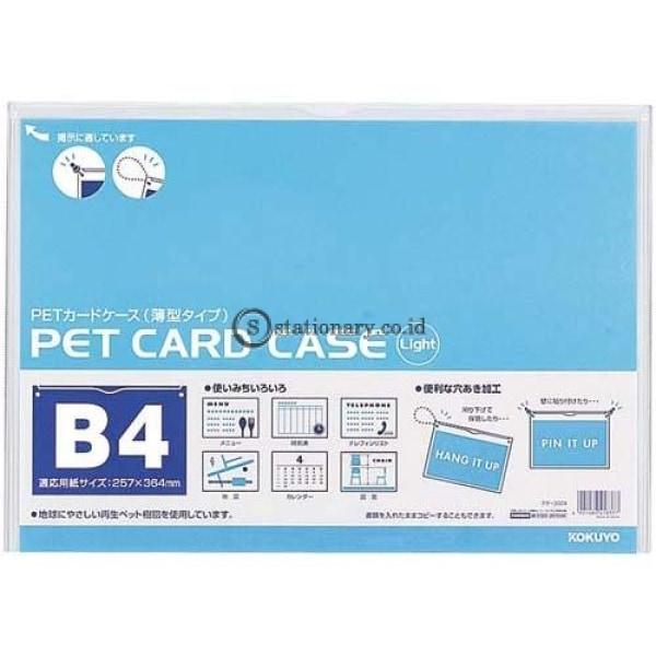 Kokuyo Pet Card Case B4 Kuke-3024 Office Stationery