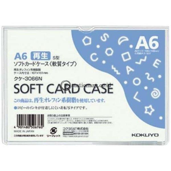 Kokuyo Soft Card Case A6 Kuke-3066N Office Stationery