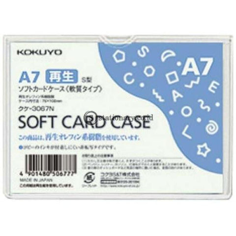 Kokuyo Soft Card Case A7 Kuke-3067N Office Stationery