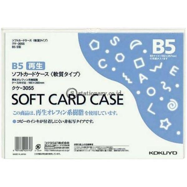 Kokuyo Soft Card Case B5 Kuke-3055 Office Stationery