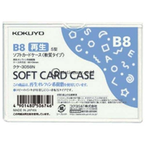 Kokuyo Soft Card Case B8 Kuke-3058N Office Stationery