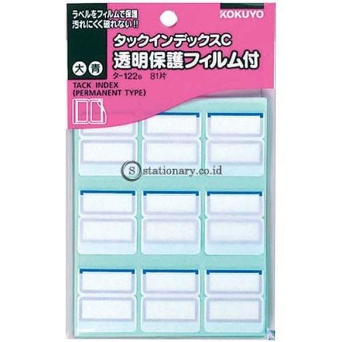Kokuyo Tack Index T-122 T-122-Blue Office Stationery