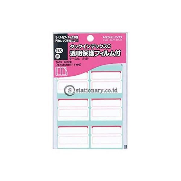 Kokuyo Tack Index T-123 T-123R (Red) Office Stationery