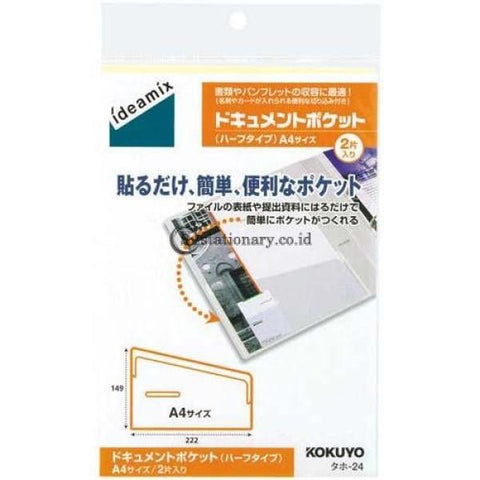 Kokuyo Tack Pocket A4 Taho-24 Office Stationery