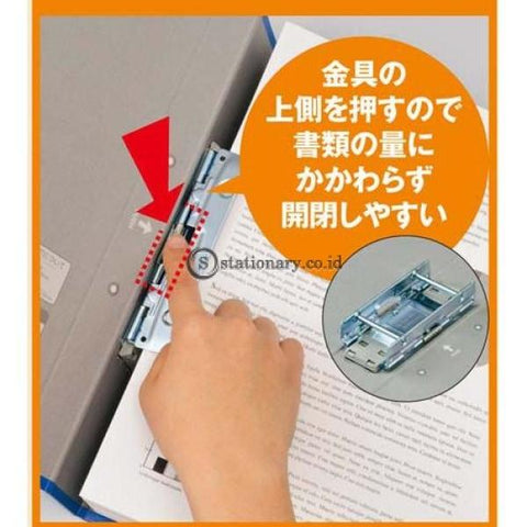 Kokuyo Tube File A4 Fu-Rt650 Blue Office Stationery