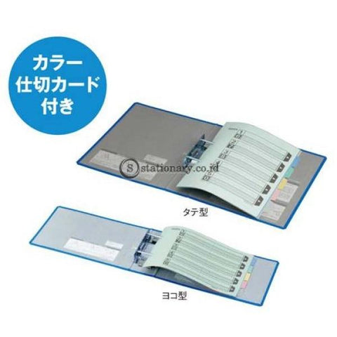 Kokuyo Tube File A4 Fu-Rt660 Blue Office Stationery