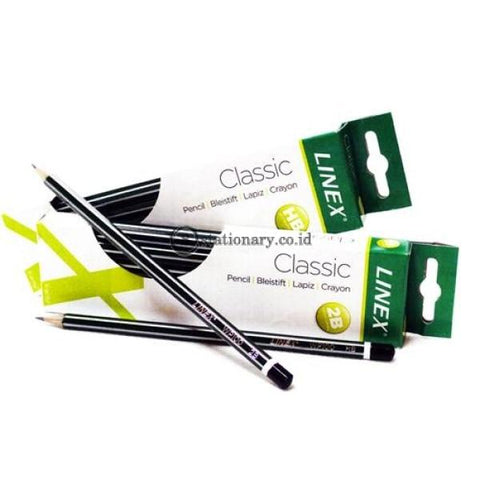 Linex Pensil Grade 2B For Computer 4860 Bantex Office Stationery