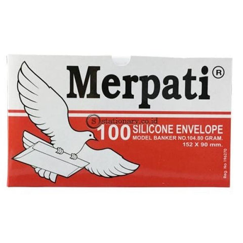 Merpati Amplop Putih No 104 Office Stationery