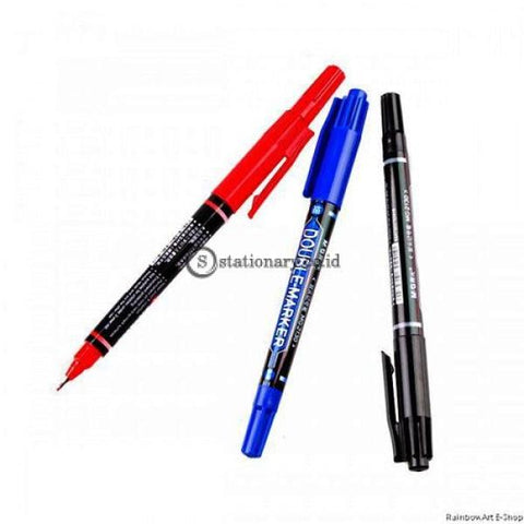 M&g Twin Marker Double Permanent 0.8Mm #apm21372 Office Stationery