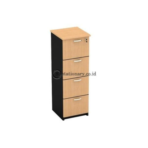 Modera Filling Cabinet 4 Laci E Class Type Efc 2404 Office Furniture