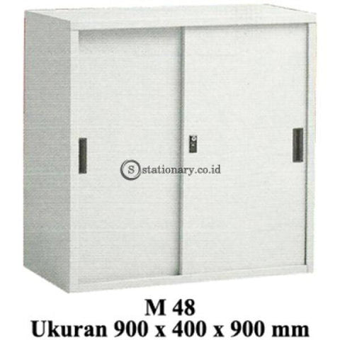 Modera Lemari Arsip Pintu Sliding Type M 48 Office Furniture