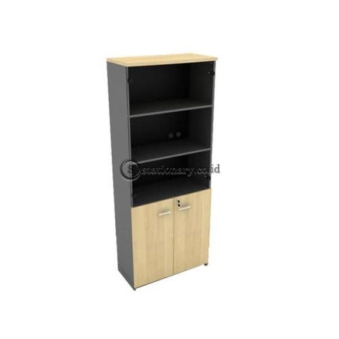 Modera Lemari Arsip Tinggi B Class Type Bhc 7423 Dengan Pintu Panel Kaca Office Furniture