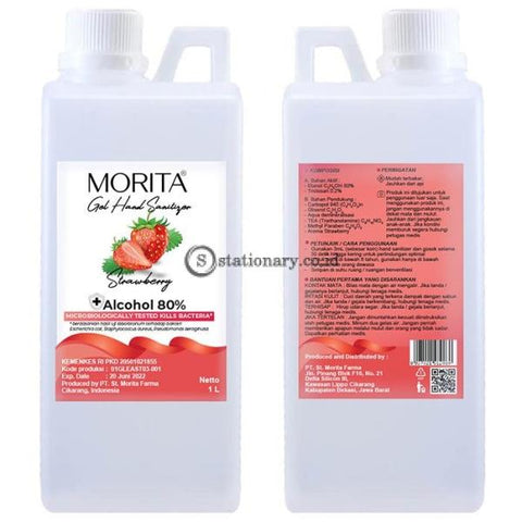 Morita GEL Hand Sanitizer 1L (Alcohol 80%)