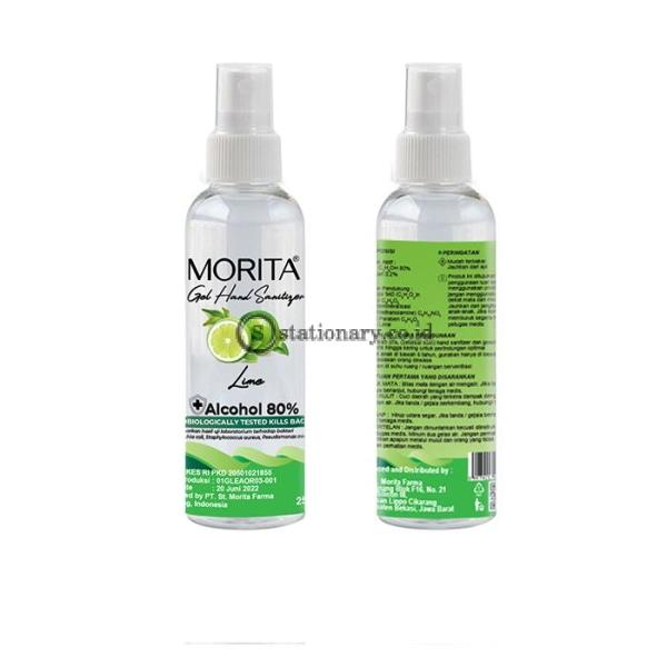 Morita GEL Hand Sanitizer 250ml (Alcohol 80%) Botol Spray