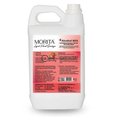 Morita Liquid Hand Sanitizer 5L (Alcohol 80%)