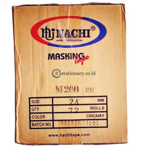 Nachi Masking Tape 1 Inch (24Mmx20Y) Office Stationery