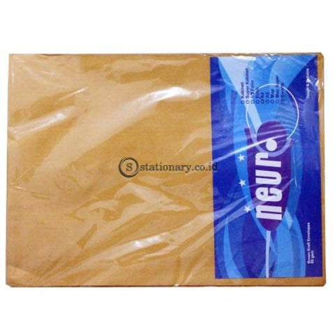 Neuro Amplop Coklat 80 Gram A4 Office Stationery