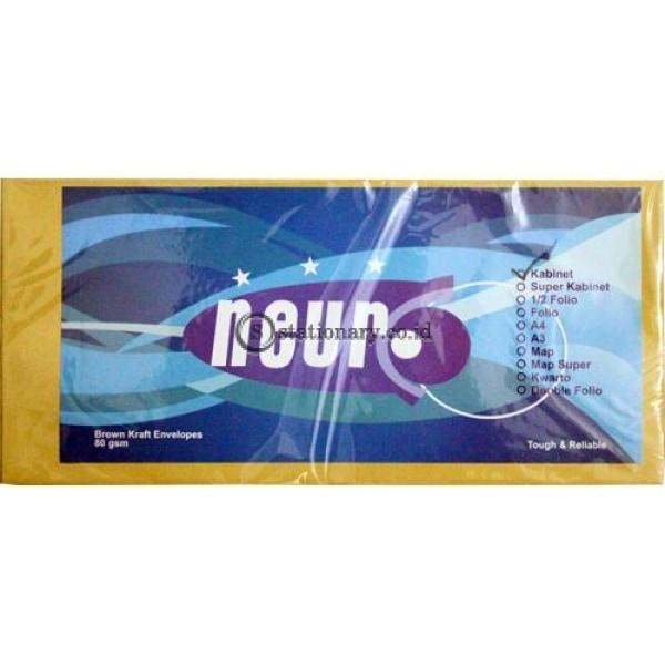 Neuro Amplop Coklat 80 Gram Kabinet Gaji Office Stationery