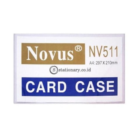 Novus Card Case Nv-511 (29.7 X 21 Cm) A4 Office Stationery