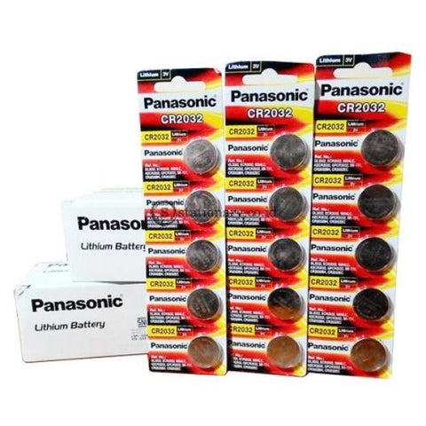 Panasonic Baterai Kancing Micro Lithium Cell Cr2032 Office Stationery