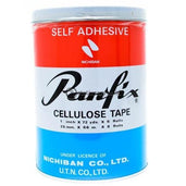 Panfix Cellulose Tape 1Inch X 72 Yard (6Rolls) Office Stationery