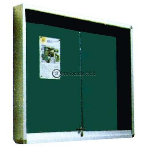 Papan Mading Gantung List Aluminium Uk. 90 X 180 Gm - Ppg918 Office Equipment