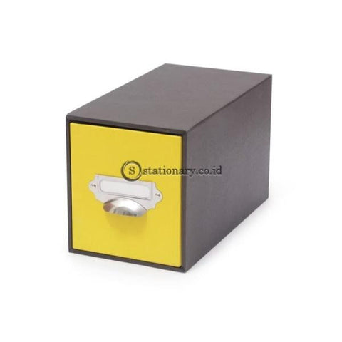 Papeo Kotak Tarik Drawer Box Yellow #8910 06