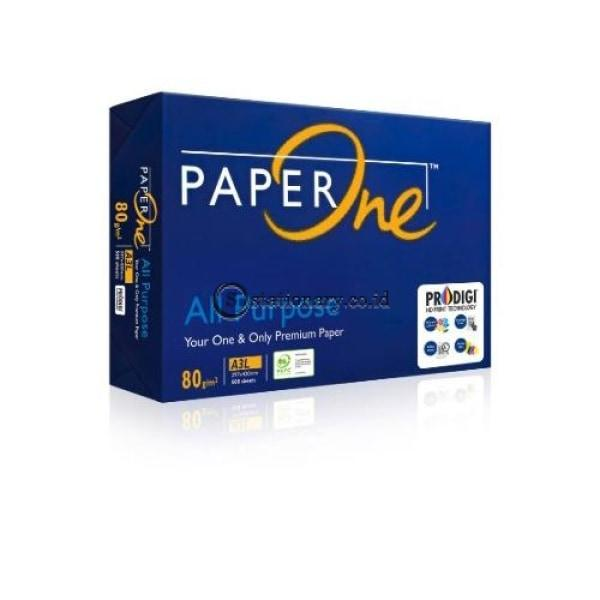 Paper One Kertas Hvs A3 80 Gsm All Purpose Office Stationery