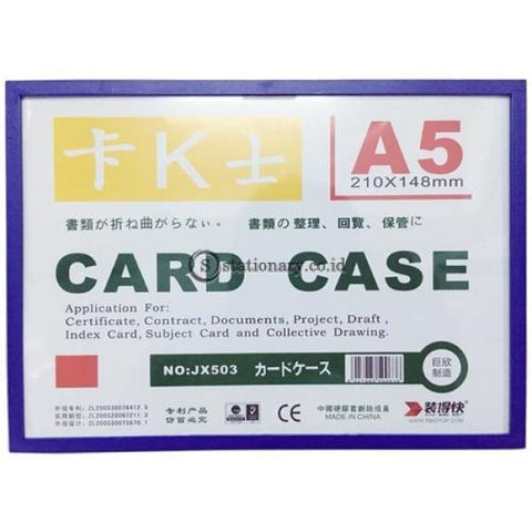 Pixel Card Case Magnetik With Frame A5 Office Stationery