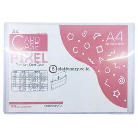Pixel Card Case Premium A4 Jx-604 Office Stationery