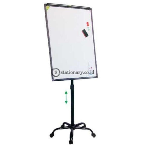 Pixel Papan Flipchart Stand Metal 5 Wheel Bw-Va Office Equipment Promosi