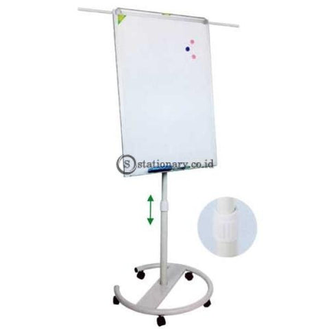 Pixel Papan Flipchart Stand Metal Bw-Vb Office Equipment Promosi