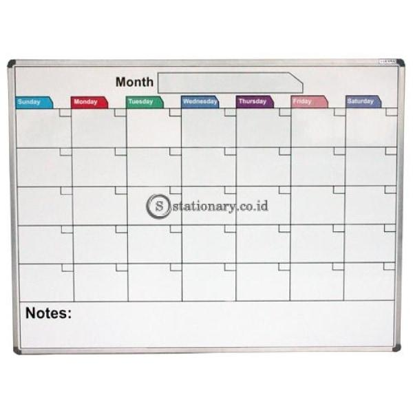 Pixel Papan Whiteboard Calendar Uk 90 X 120 Cm Office Equipment Promosi