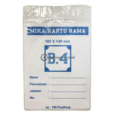 Plastik Mika Panitia 105 X 140Mm (Ketebalan 0.9Mm) Potrait B4 Office Stationery