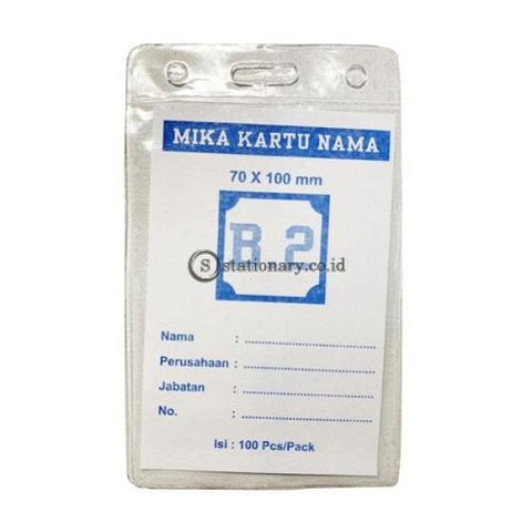 Plastik Mika Panitia 70 X 100Mm (Ketebalan 0.9Mm) Potrait B2 Office Stationery