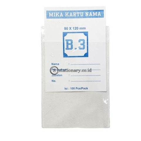 Plastik Mika Panitia 90 X 120Mm (Ketebalan 0.9Mm) Potrait B3 Office Stationery