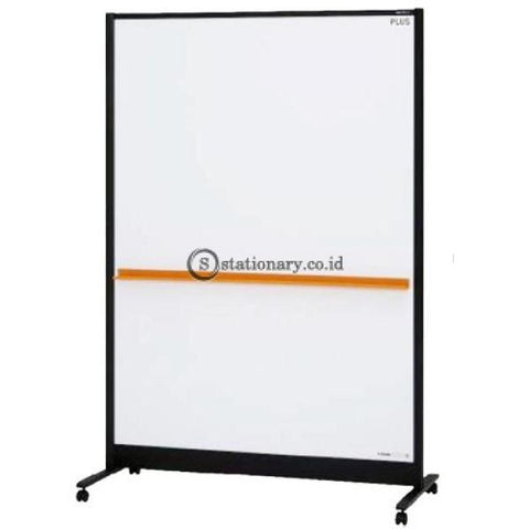 Plus Double Sided Partition Whiteboard (W1250 X H1840 D560Mm) Wbc-S1218Dsk-Bk-Eu Office Stationery