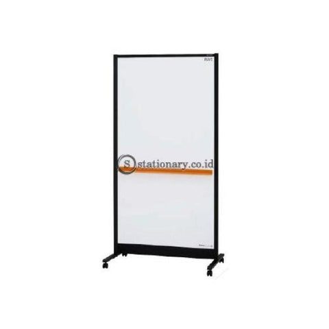 Plus Double Sided Partition Whiteboard (W950 X H1840 D560Mm) Wbc-S0918Dsk-Bk-Eu Office Stationery