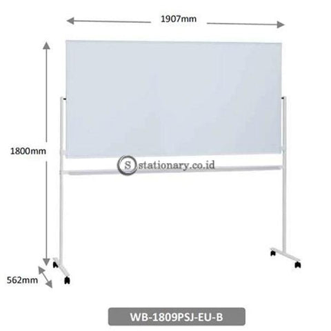 Plus Projector Screen Whiteboard Wb-1809Psj-Eu-B Office Stationery