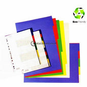 Bantex PP Colour Divider A4 (5 pages) #6005 00