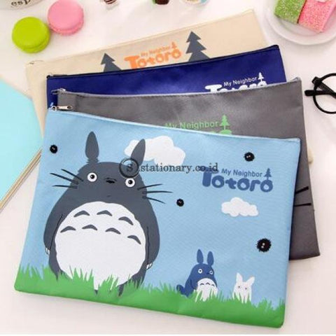 (Preorder) 2020 Big Capacity Cute My Neighbor Totoro Oxford A4 File Folder Document Organizer Holder