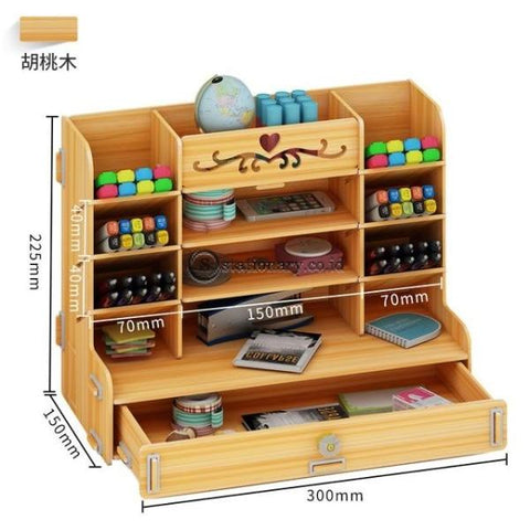 (Preorder) Ayane Creative Container Storage Box Lattice Office Desktop Shelf Students Personality