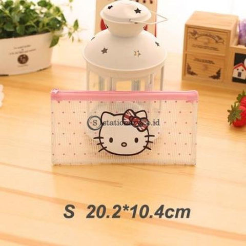 (Preorder) Cartoon Cat Pvc File Bag Pencil Case Folder Documents Filling Office School Suppllies