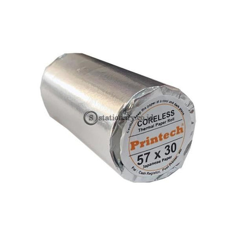 Printech Thermal Paper Roll 57 x 30 (Tanpa Core)