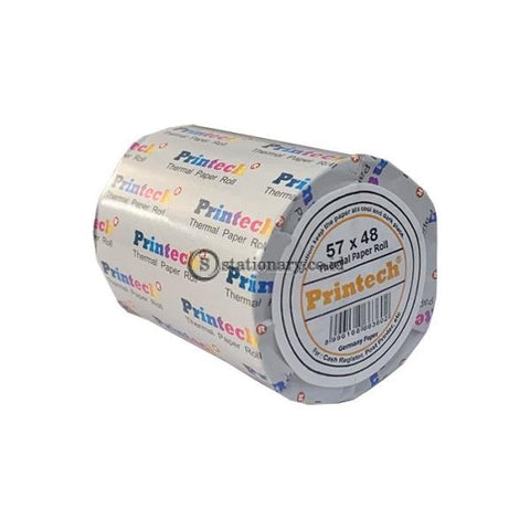 Printech Thermal Paper Roll 57 X 48 Office Stationery